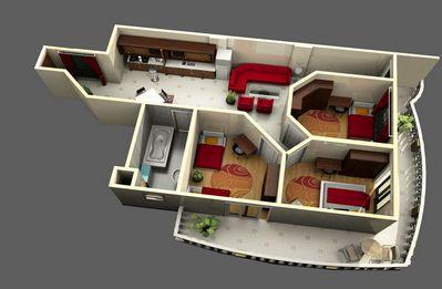 Общая и жилая площадь квартиры